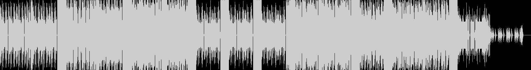 ポップなダンス風8bitチップチューンの未再生の波形
