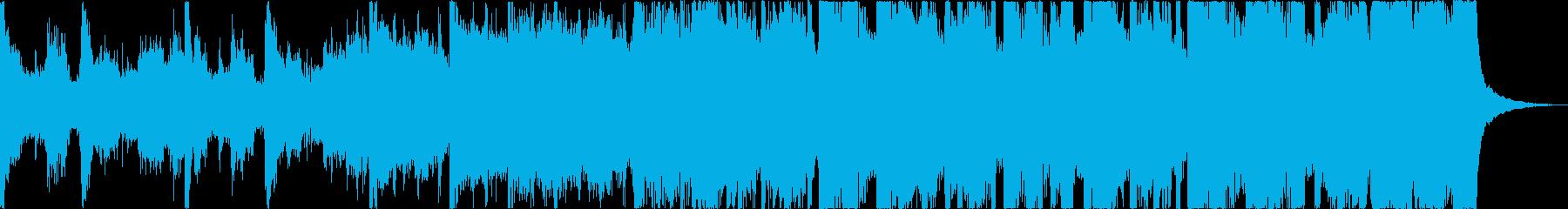 おしゃれレトロディスコシティポップdの再生済みの波形
