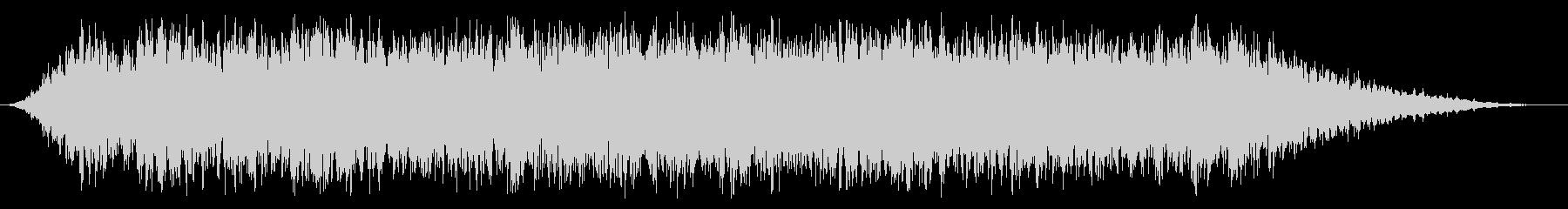 スローロアシンセライズの未再生の波形