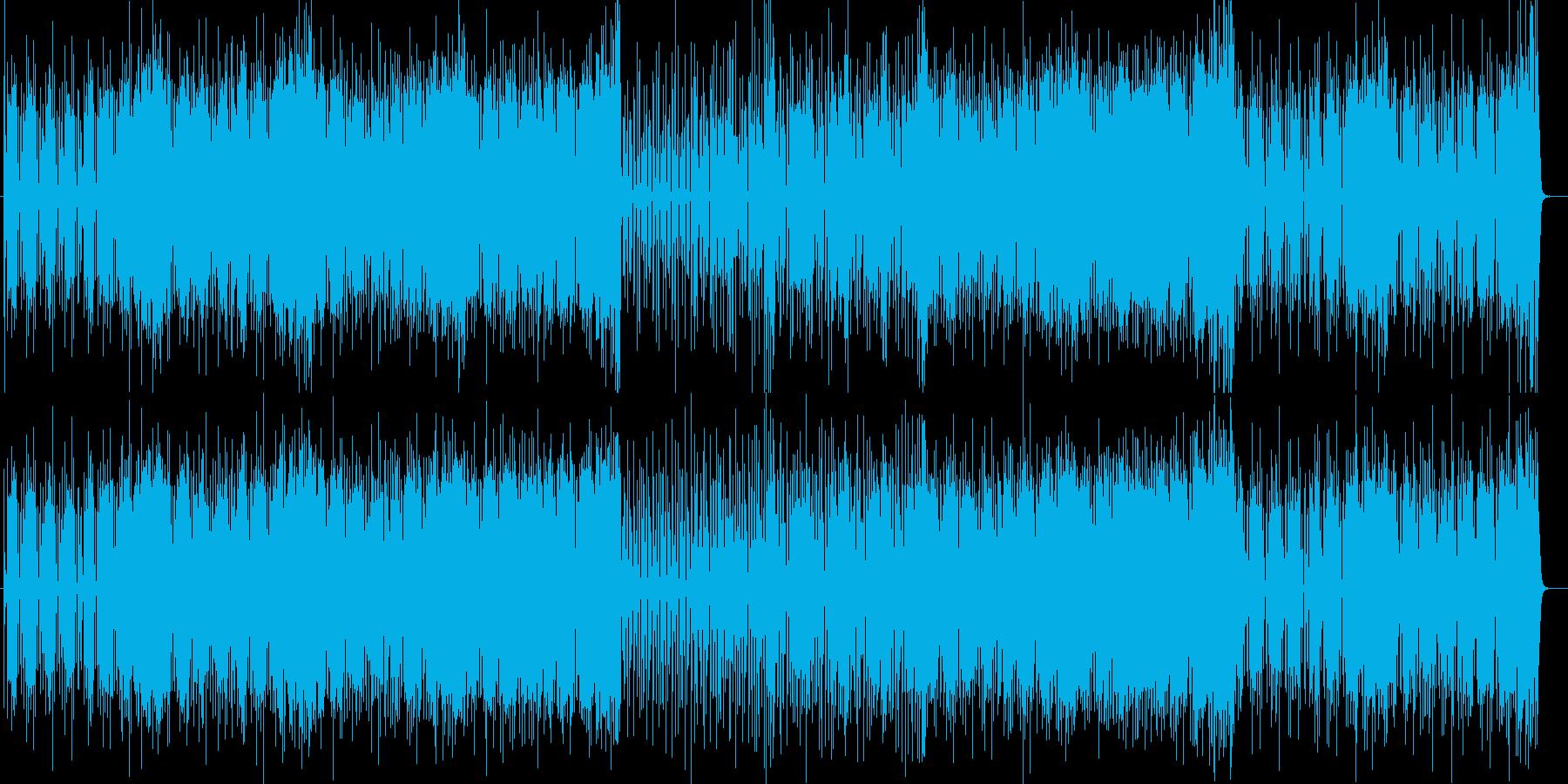 おしゃれなシンセ・ピアノサウンドの再生済みの波形