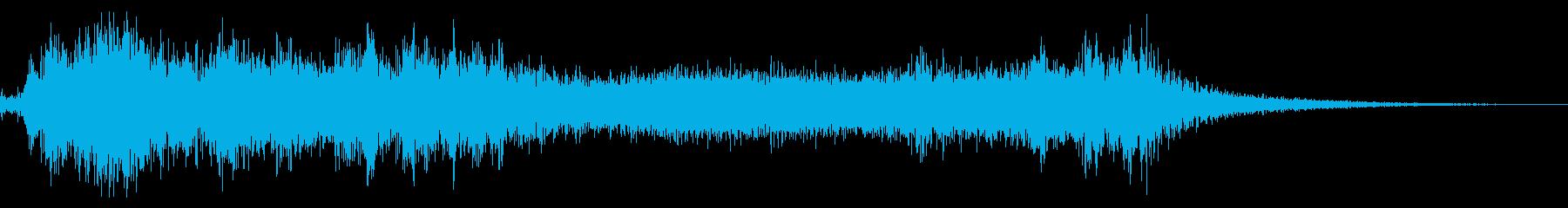 ホラーヴァンパイアデーモンの再生済みの波形
