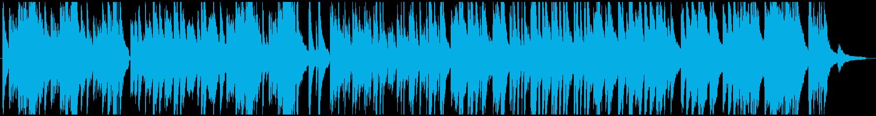バーやラウンジで流す落ち着いたBGMの再生済みの波形