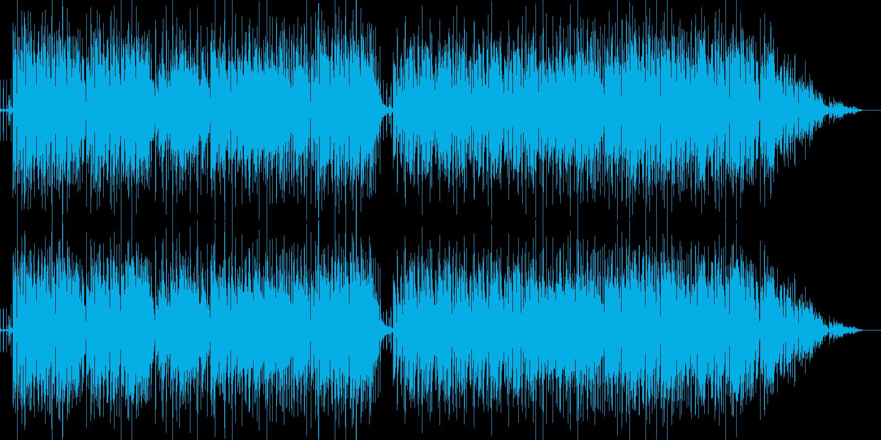 明るく軽快なリズミカルなラテンポップ の再生済みの波形