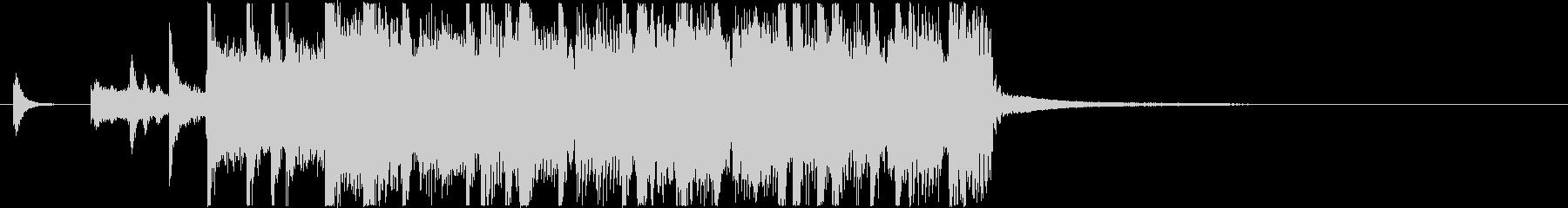 生演奏メタルなアイキャッチ18の未再生の波形