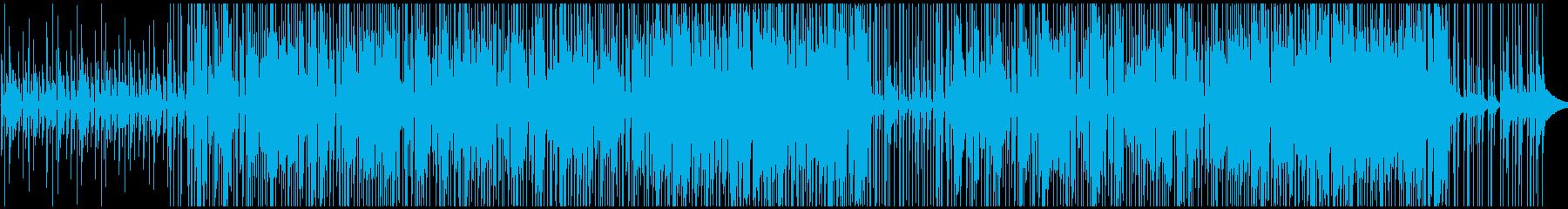 ギター 無し お調子者 ファンクブルースの再生済みの波形