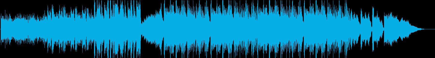 妖しげで何か始りそうなエレクトロジングルの再生済みの波形