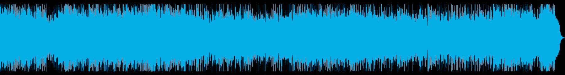 リフ、バッキング主体のメタル 戦闘曲の再生済みの波形