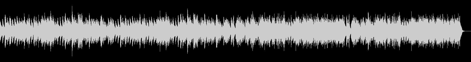 ゴルトベルク変奏曲主題部Full/ピアノの未再生の波形