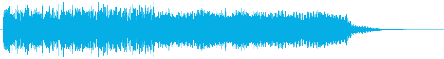 クールなジャーマンメタル風ギターフレーズの再生済みの波形