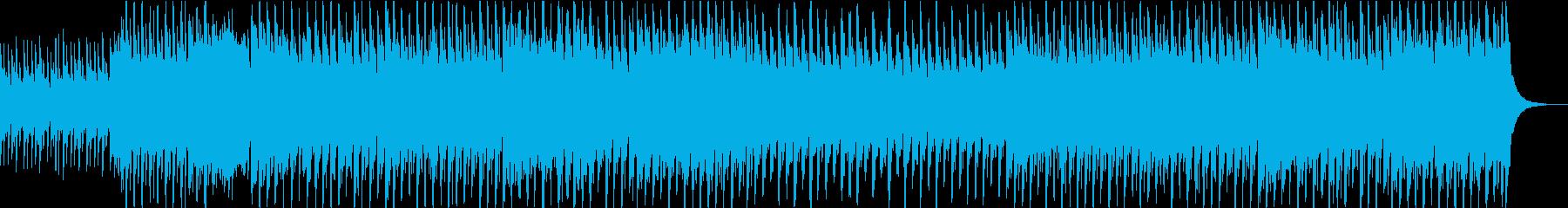 和風の琴と三味線のEDMの再生済みの波形