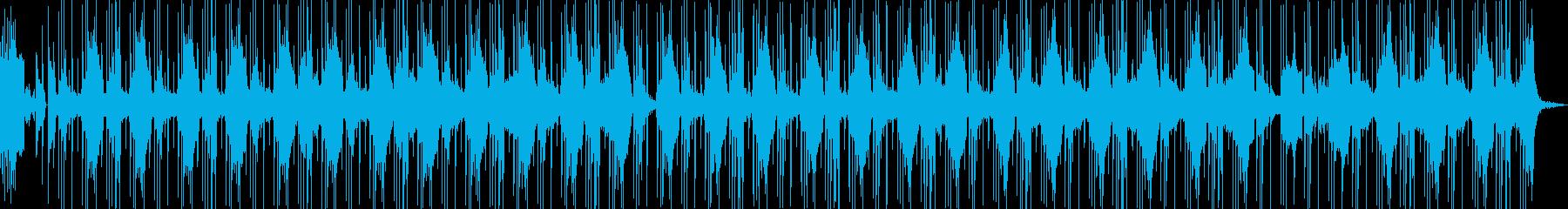 洋楽風のかっこいいR&Bヒップホップの再生済みの波形