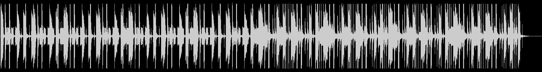 這い寄るHiphop_No485_2の未再生の波形