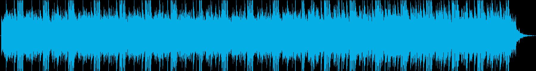 幻想的なミニマル・ミュージックの再生済みの波形