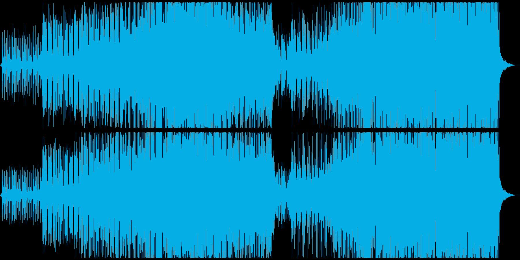 学園パーティーEDMの再生済みの波形