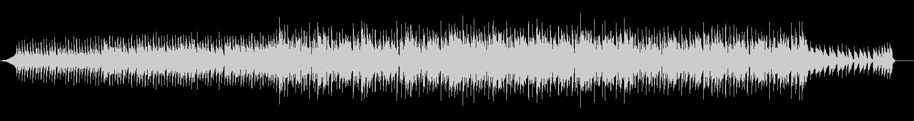M1ピアノのダンスミュージックの未再生の波形
