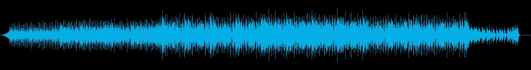 M1ピアノのダンスミュージックの再生済みの波形