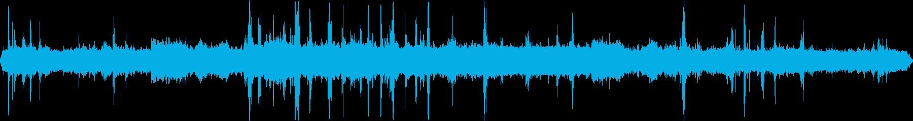 道路工事3  騒音 現場 重機 立体音響の再生済みの波形