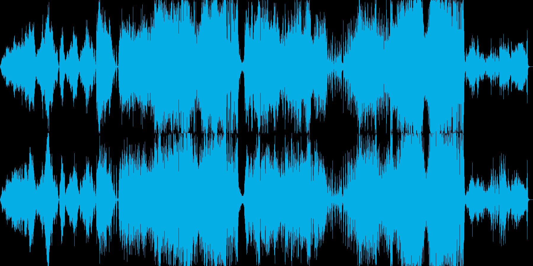 ミュージカルの組曲風の華やかさの再生済みの波形