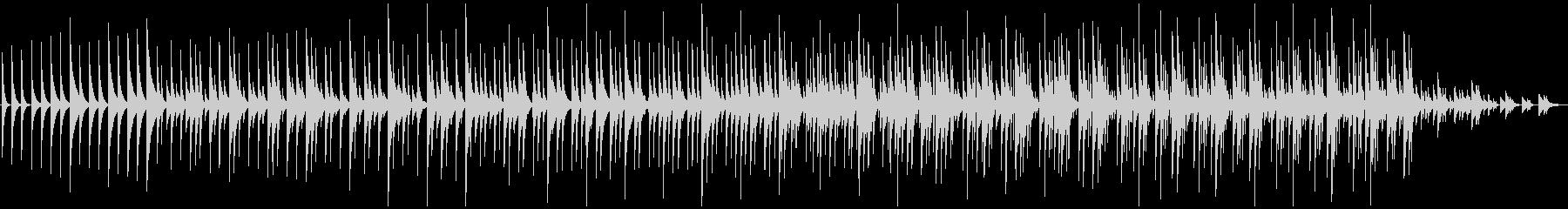 木琴5音階チャイム純正音程版、ミニマルの未再生の波形