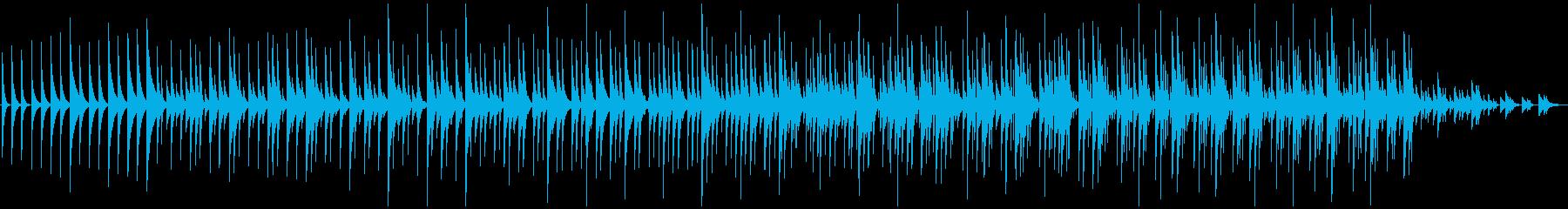 木琴5音階チャイム純正音程版、ミニマルの再生済みの波形