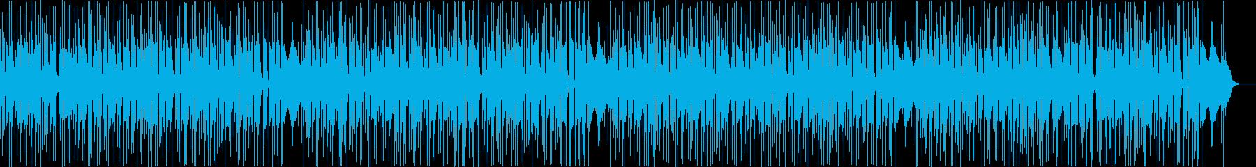 生アコギでゆったりほのぼの夏の終わりの再生済みの波形