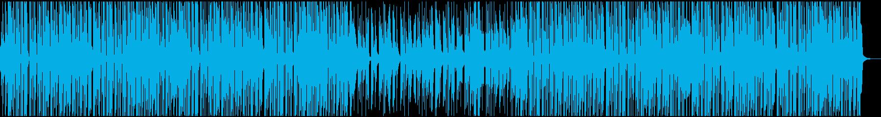 ファンキーな夏のヒップホップの再生済みの波形