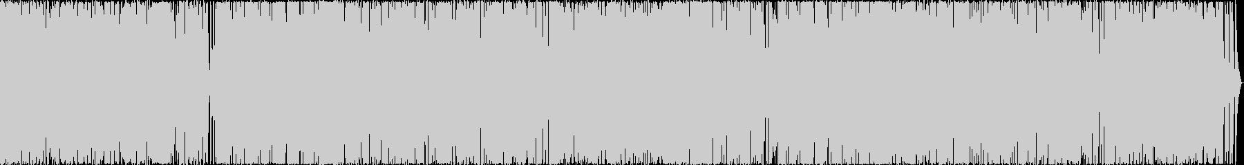スカッと抜けるような爽快サウンドの未再生の波形