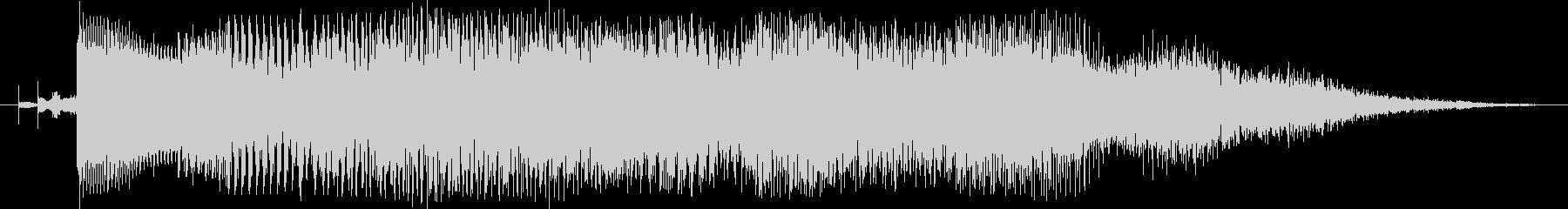 ジングル3 / エレピ / サウンドロゴの未再生の波形