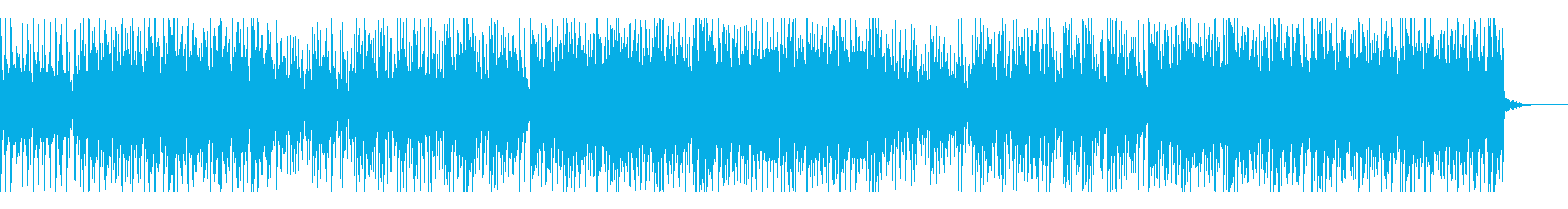 Cute and light acoustic pop's reproduced waveform