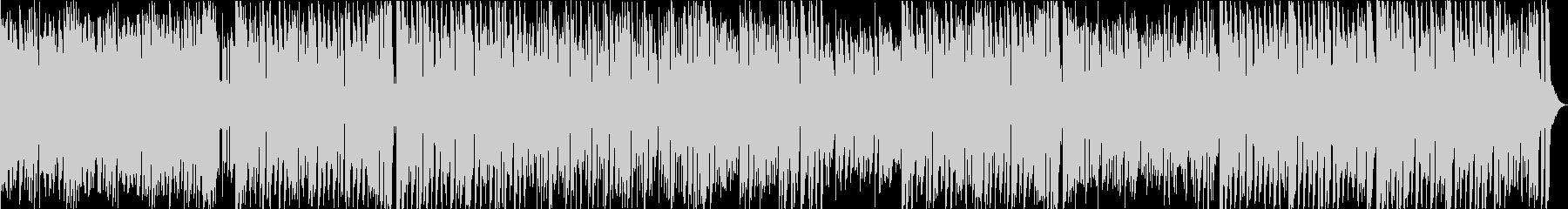 キラキラしたアニメっぽいポップスBGMの未再生の波形