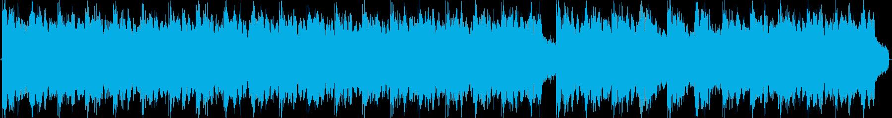 コミカルで軽快なシンセ曲の再生済みの波形