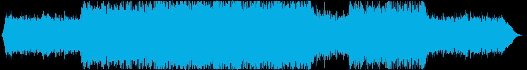 未来!希望!トランスBGM(メロ抜き)の再生済みの波形