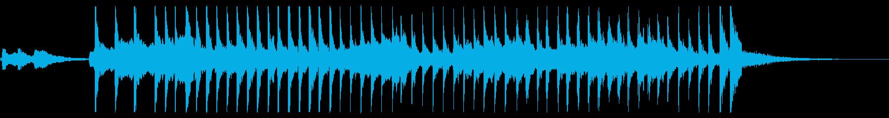 和楽器の共演の再生済みの波形