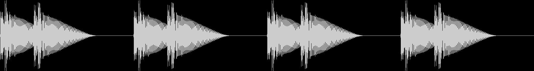 HeartBeat 心臓の音 3 ループの未再生の波形