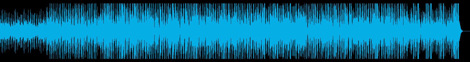 ほんわかした明るくやさしい口笛とウクレレの再生済みの波形