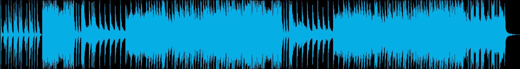 穏やかで感動的なシーンにおすすめなBGMの再生済みの波形