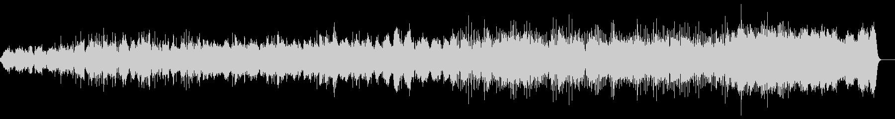 環境音、シンセ、フルート、ピアノ作品の未再生の波形