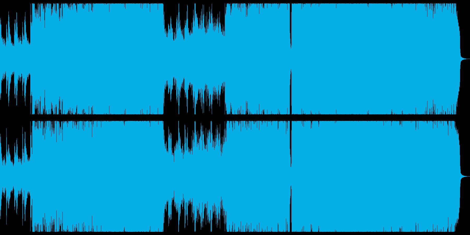 華やかなシンフォニックチルアウト。の再生済みの波形