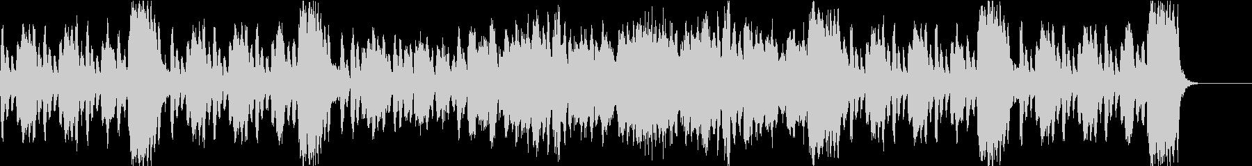 ゲーム・アニメ・CM向けフルートのマーチの未再生の波形