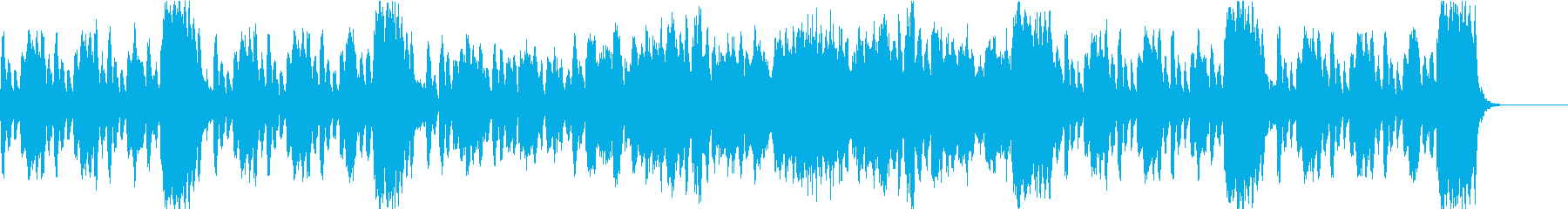 ゲーム・アニメ・CM向けフルートのマーチの再生済みの波形