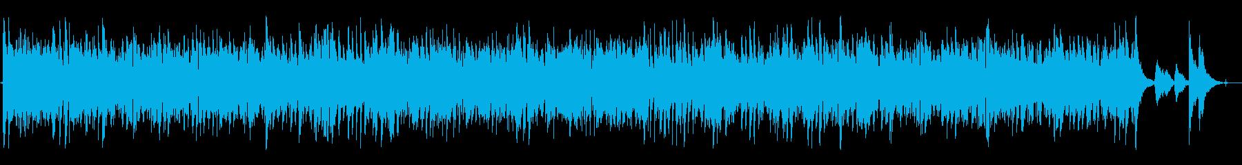 Bluesyアコースティックスライ...の再生済みの波形