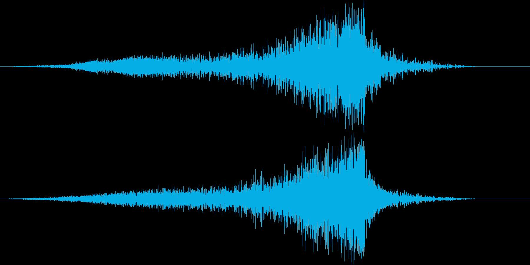 【ライザー】41 ホラーサウンド 恐怖の再生済みの波形