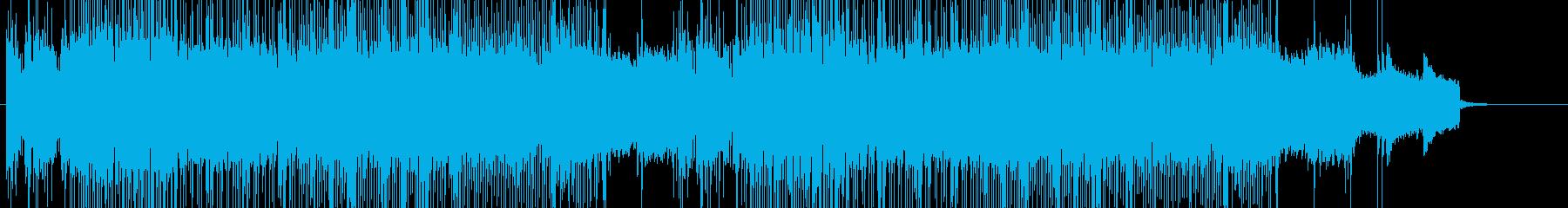 「HR/HM」「ROCK」BGM178の再生済みの波形