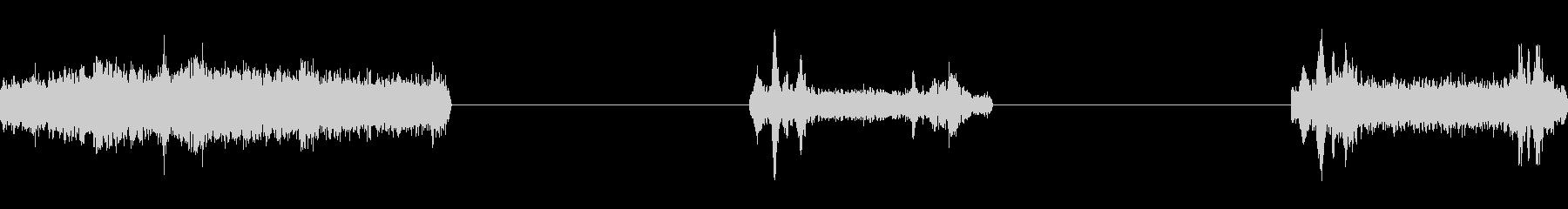 油圧サーボ:短い動き、一度に動く複...の未再生の波形