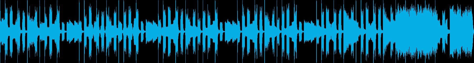 コミカル ループ R&B ラジオ用の再生済みの波形