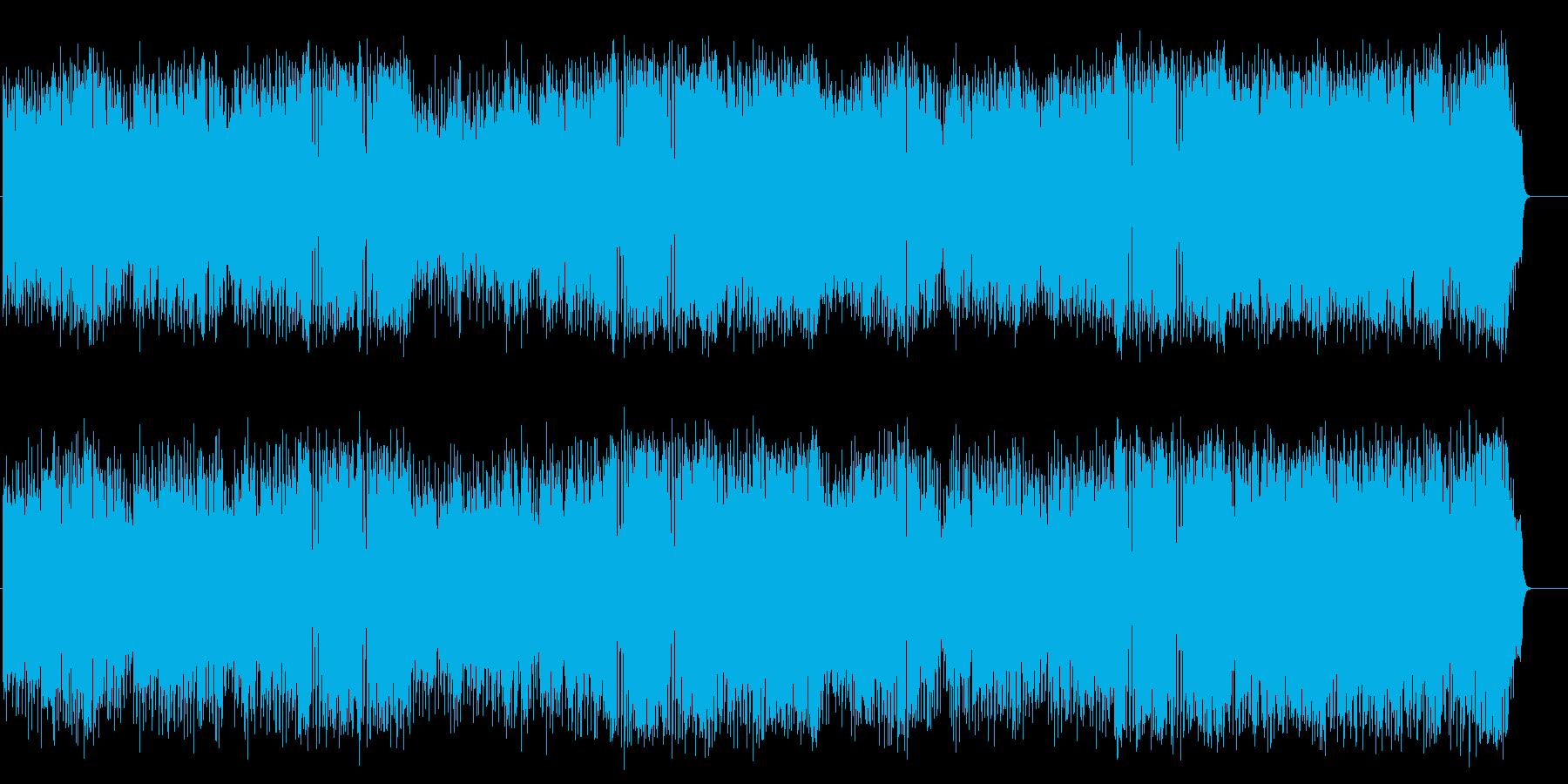 軽快なポップフュージョン(フルサイズ)の再生済みの波形