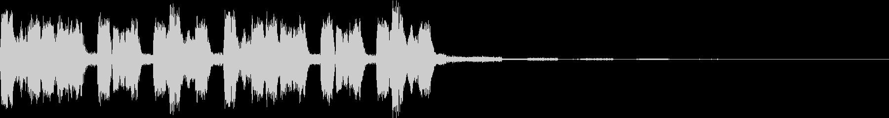 ノリノリ・キャッチーEDMジングル2の未再生の波形