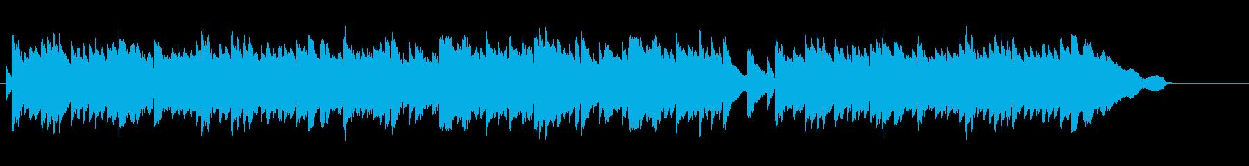 日常的で穏やかな雰囲気のBGM(Pf)の再生済みの波形