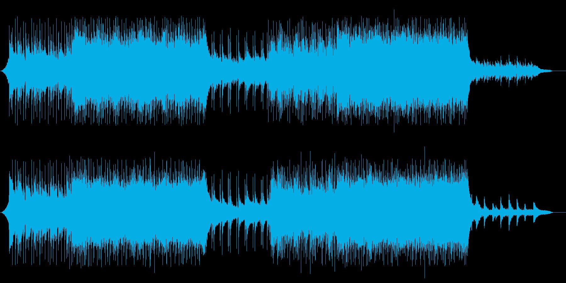VP系27B、スポーツ系、爽やかロックの再生済みの波形