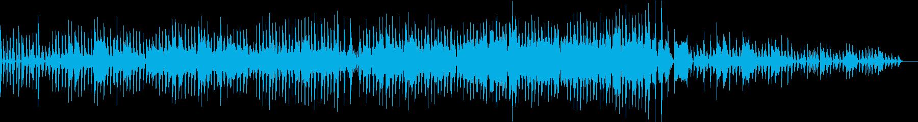 ほのぼの日常の再生済みの波形